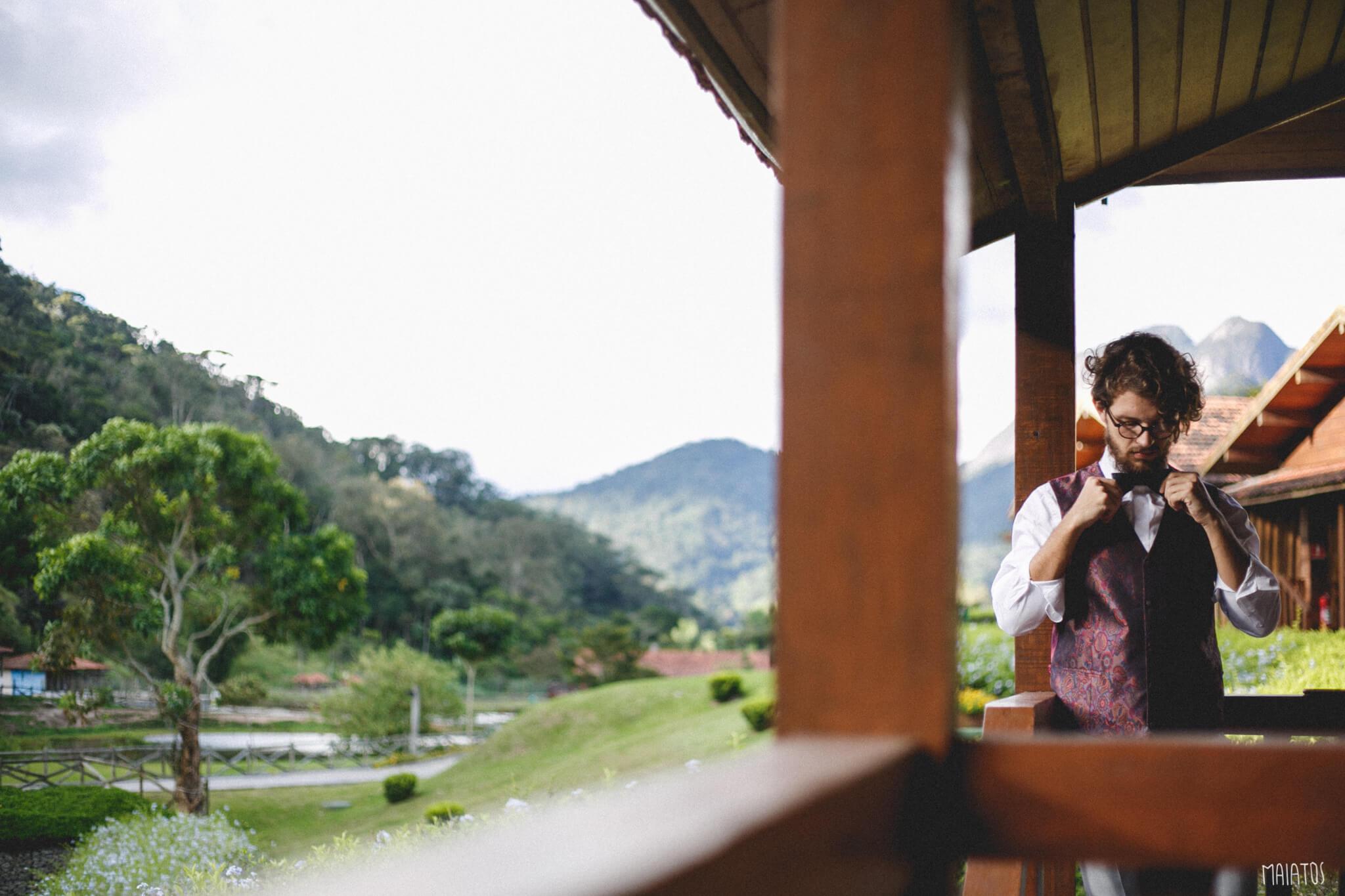 Casamento na Fazenda Suíça