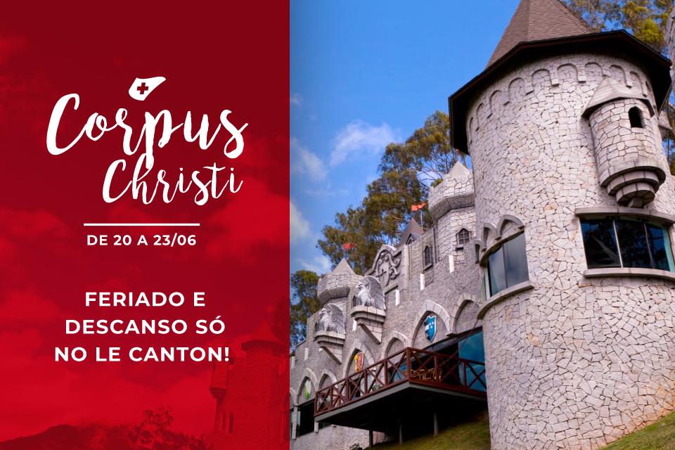 Feriado de Corpus Christi: garanta momentos inesquecíveis no Le Canton!