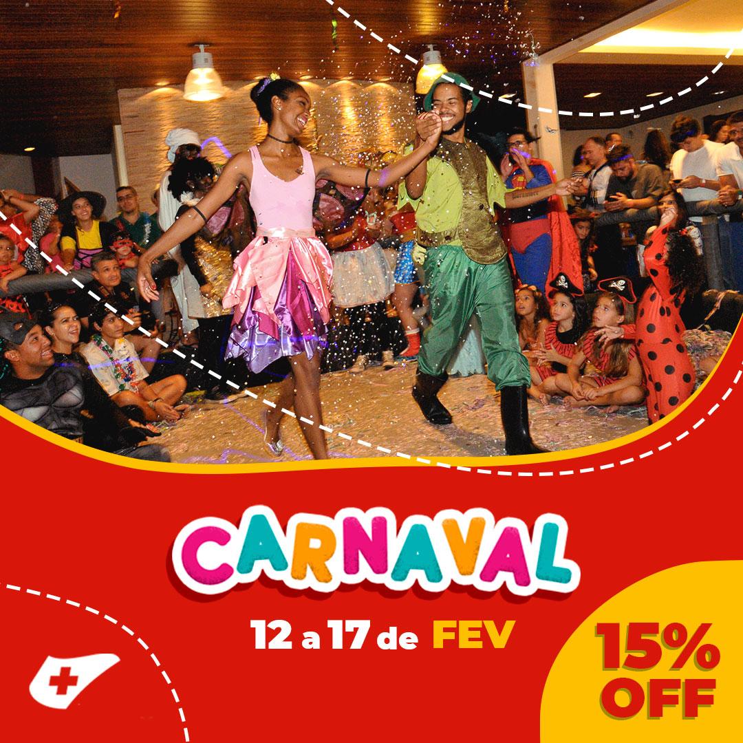 pacote de carnaval