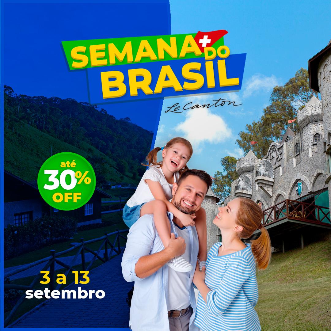 🟢 Semana do Brasil! 🟡